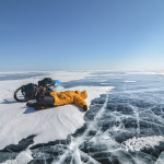 Zimowy Bajkał na rowerze